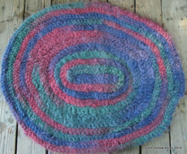 Braided Alpaca Rug